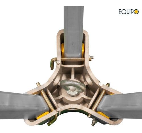 trípode de rescate de aluminio telescópico (normas ce 22kn)