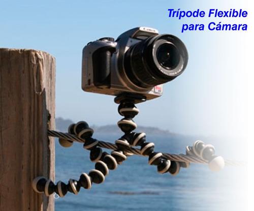 trípode flexible para celular incluido iva garantia