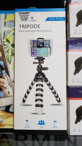 tripode flexible tipo pulpo camaras celulares tablets - lima