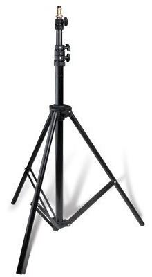 trípode godox la-300 con freno neumático altura máxima 3 mts