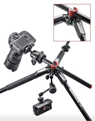 trípode manfrotto mt 190 xpro4 p/ nikon - canon - sony