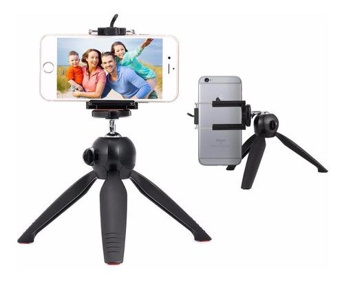 tripode mini soporte clip para celular camara go pro 360 °