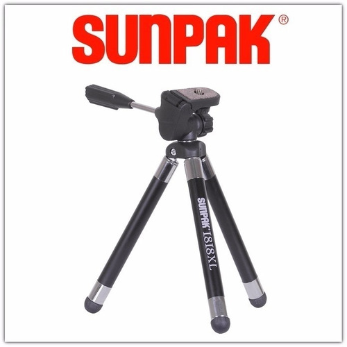 tripode mini sunpak 1818xl tabletop - inteldeals