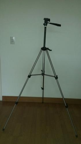 trípode para cámara fotográfica