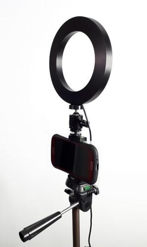 tripode para camara o celular 50 pulg + anillo de luz para m