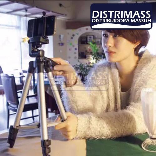 trípode para cámaras filmadoras profesionales 1.20mt aporx