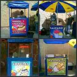 tripode para piñatas,mobiliario candy bar,agencia festejo
