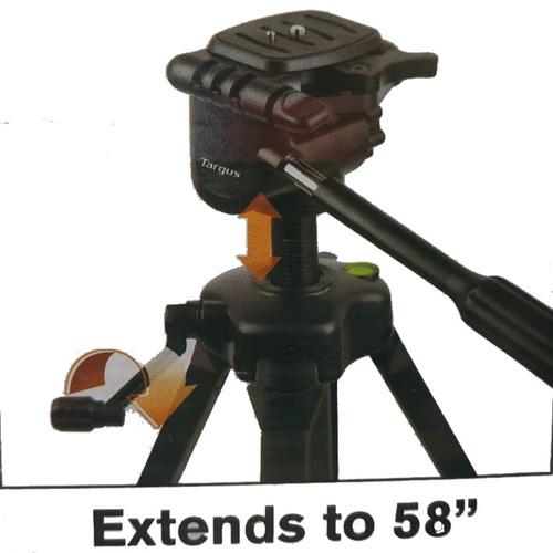 tripode profesional canon nikon manija max 147cm + estuche