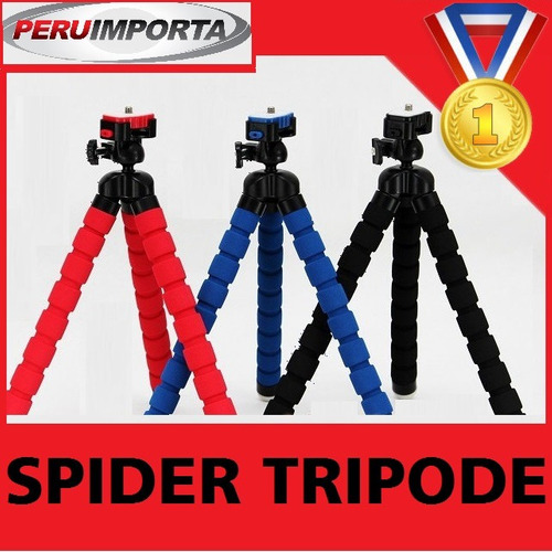 tripode pulpo universal camara sony canon lumix apple iphone