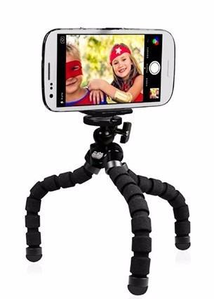 tripode spider para camara, smartphones y iphone 5.5