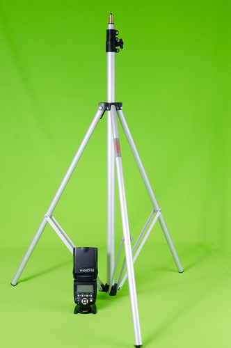 tripode trimax 2,5 mts para iluminacion flash fotografía