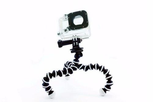 trípode tripie flexible mini  accesorio gopro hero 1 2 3 4