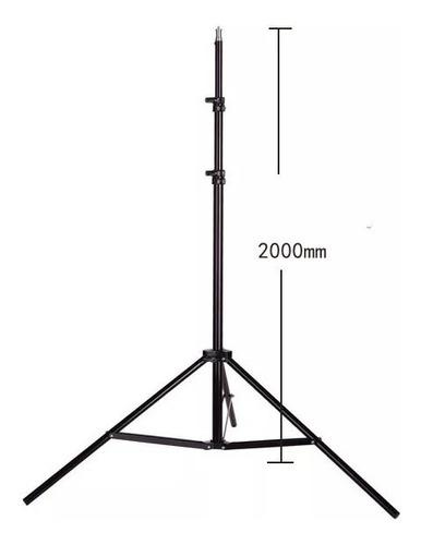 tripode w803 para flash, cabeza de luz, soporte para lampara
