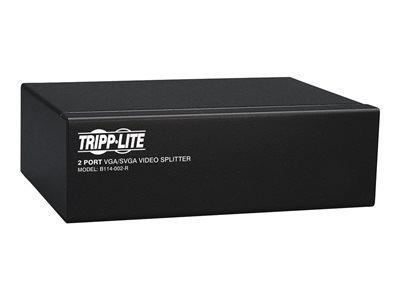 tripp lite vga / svga de 2 puertos splitter de vídeo amplifi