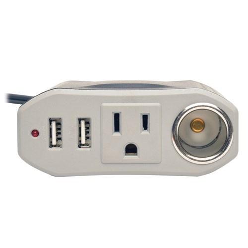 tripplite powerverter (pv100usb) 2-puertos usb 12v 60hz 150w