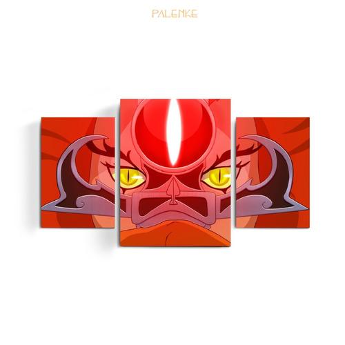 triptico caballeros del zodiaco batman he-man dbz pokemon