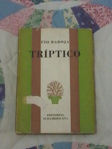 triptico - pio baroja