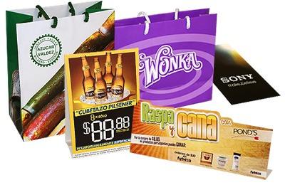 tripticos afiches bolsas semanarios recipes facturas