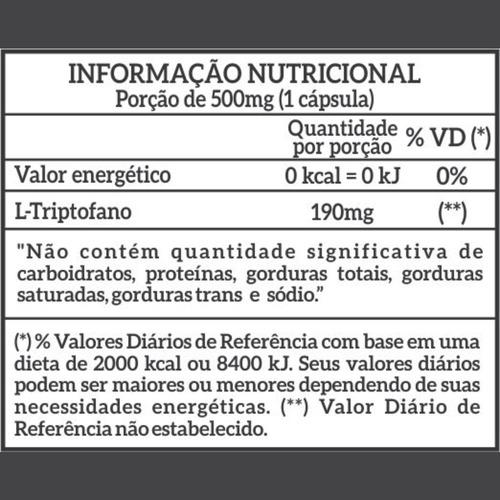 triptofano newnutrition 120 cápsulas