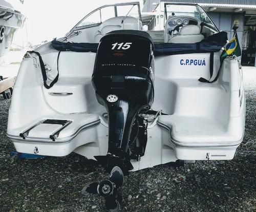 triton 200 aberta 115 hp optimax  ñ focker ventura 205