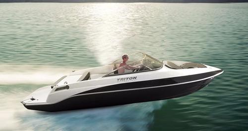 triton 230 open + 200hp bravo 3 - nxboats coral real focker