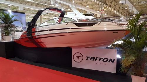 triton 250 cab + 4.3 220hp - focker fs 230