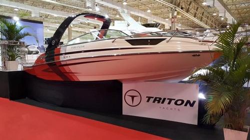triton 250 cab com mercruiser 4.3l 220hp - mpi alfa 1