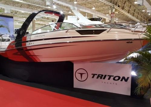 triton 250 cabinada 250 hp  ñ focker nx 250 real 260 ventura