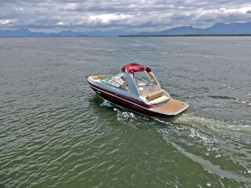 triton 250 open + 4.3l 220hp - coral real fibrafort focker