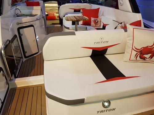 triton 300 + 6.2 300hp bravo3 -nxboats coral real focker ven