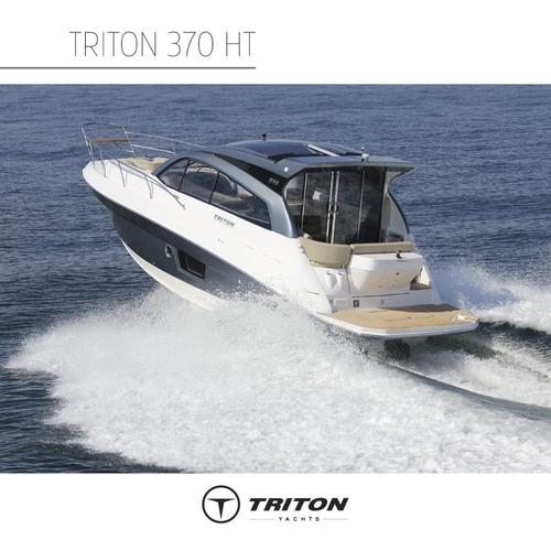 triton 370 ht 2x 250 hp  ñ sedna 380 evolve phantom nx 360