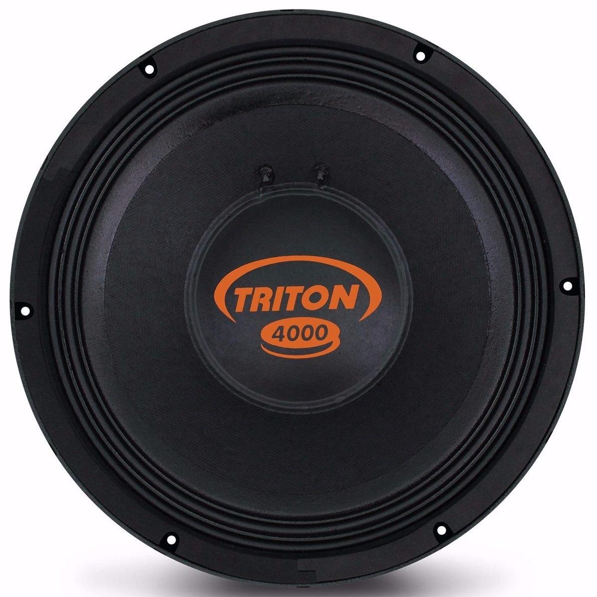 7c39ce3b8 Triton 4000w Rms Alto Falante Woofer Tr4000 12 Pol. 4 Ohms - R$ 989 ...