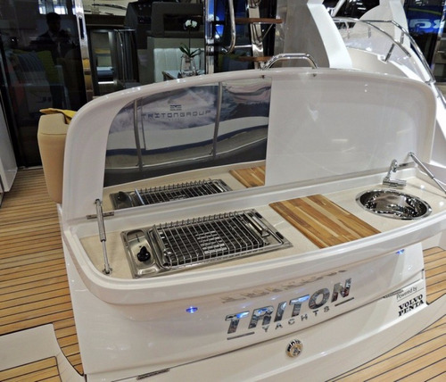 triton 440 fly + d6 370hp - sessa 40 / phantom / azimut