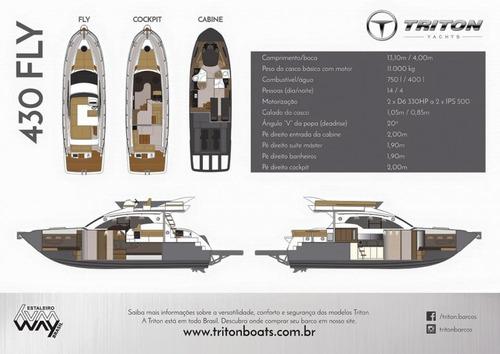 triton 440 fly -  ñ azimut schaefer real intermarine