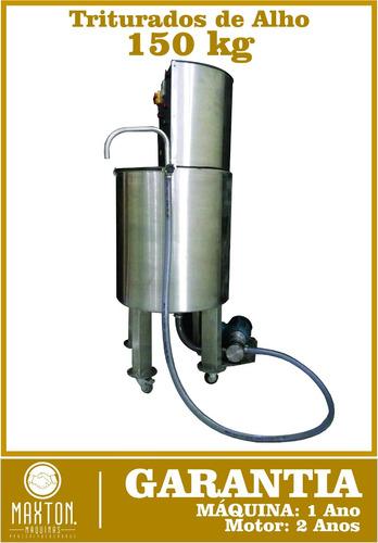triturador de alho 150 kg