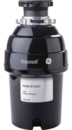 triturador de desperdicios ge 1 hp sin cable - gfc1020v