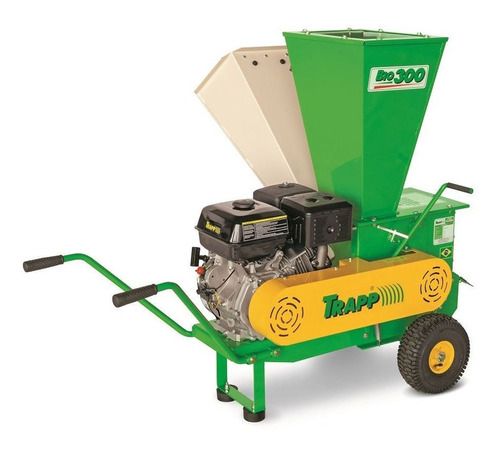 triturador de galhos 15hp lifan a gasolina trapp bio 300
