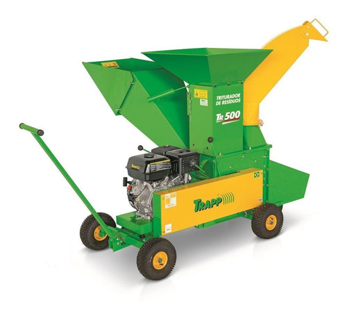 triturador de galhos 15hp lifan a gasolina trapp tr 500g