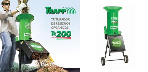 triturador de resíduos organicos tr200 1,5cv bivolt trapp