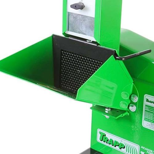 triturador forrageira 2cv monofásico 220v trf400 trapp