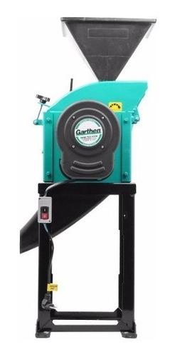 triturador forrageiro c/ motor 2 hp mono gt2000ldf garthen