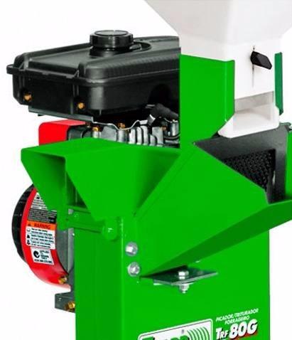 triturador forrageiro à gasolina trapp trf-80g 3,5 hp