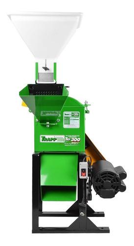 triturador forrageiro trf-300f 3cv monof. weg 127/220v trapp