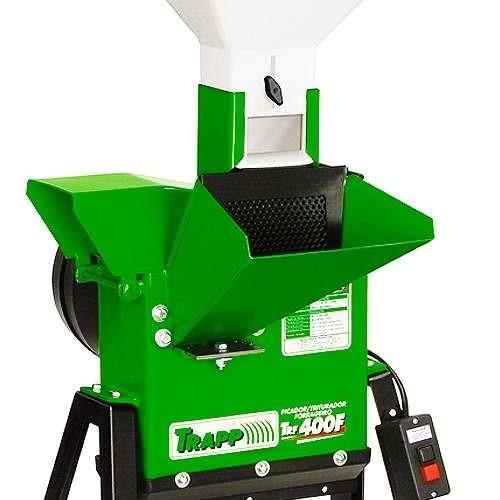 triturador forrageiro trf400f 3.0cv monof  220v trapp