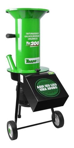 triturador galhos folhas orgânico trapp tr200 bivolt
