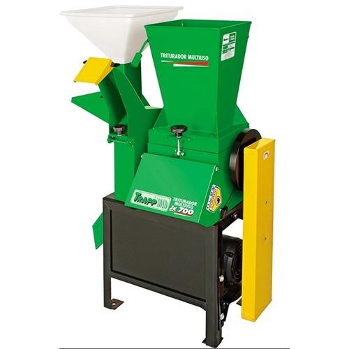 triturador multiuso trapp jk 700 com motor de 2cv ou mono