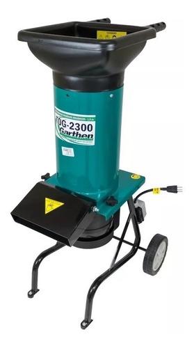 triturador organico eletrico 1800 watts tog 2300 garthen