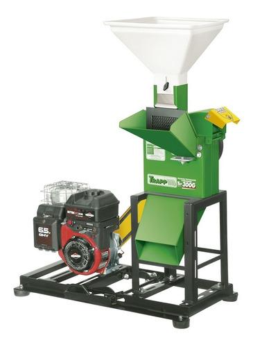 triturador ração trf-300g motor a gasolina 6,5hp trapp