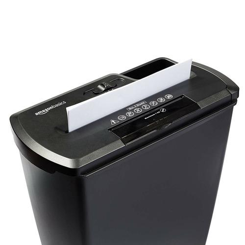 trituradora destructora papel cd tdc amazon basics bagc