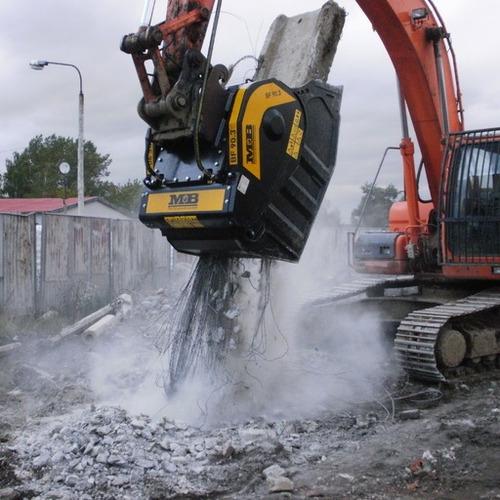 trituradora mb para excavadoras